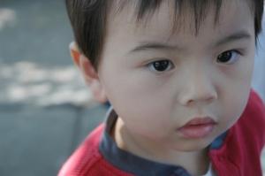 Det här barnet är autistiskt eller inte. De flesta kan inte avgöra med en snabb blick.